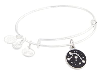 Alex and Ani Color Infusion Aquarius Bangle Bracelet (Shiny Silver) Bracelet