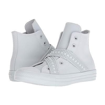 Converse Chuck Taylor All Star Punk Strap Hi (Platinum/White) Women