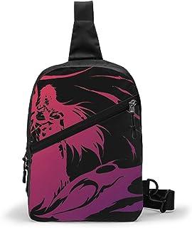 Bleach Bolso Bandolera De Hombre Bolso Cruzada Hombre Bolsa De Pecho Sling Bag Crossbody Para Al Aire Libre Camping Ciclis...