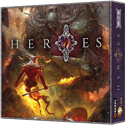 Rebel Sp. z o.o. REB00334 - Brettspiele, Heroes