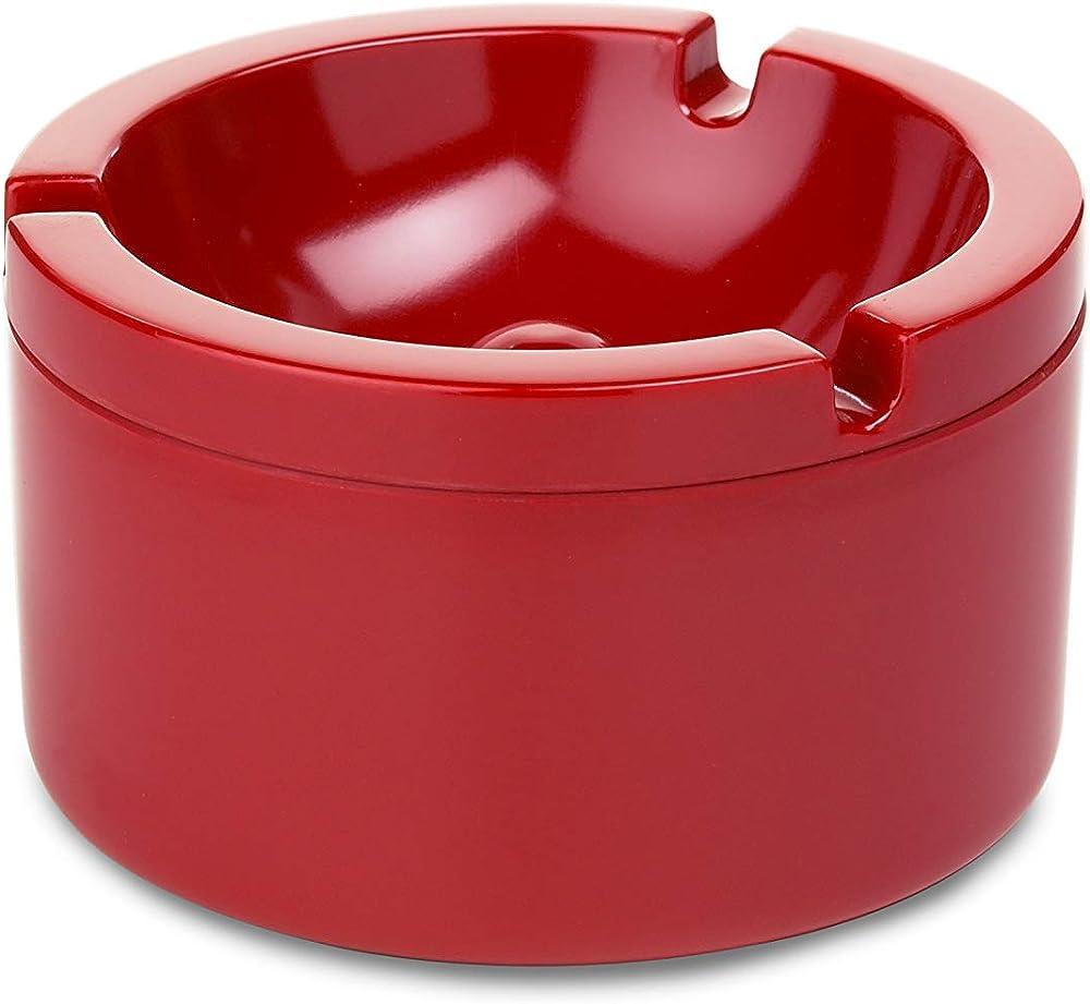 Rosti mepal , posacenere con coperchio , in ceramica 102810075900