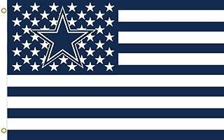 Dallas Cowboys Stars and Stripes 017732 Flying Flag 3x5 Feet