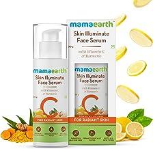 Mamaearth Skin Illuminate Vitamin C Serum For Radiant Skin with High Potency Vitamin C & Turmeric 30 g