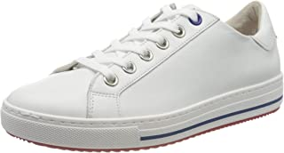 Gabor Women's Operator Low-Top Sneakers, White (White(S.W/Rot/Bla) 52), 8.5 UK (42.5 EU)