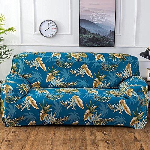 Funda de sofá con Estampado de Colores geométricos Fundas elásticas Funda de sofá antisuciedad Funda de sofá Funiture Toalla All Wrap A15 4 plazas