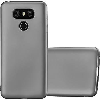 Cadorabo Funda para LG G6 en Metallic Gris – Cubierta Proteccíon ...