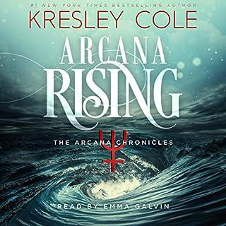 Arcana Rising audiobook cover art