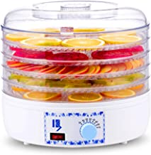 YUNTAO Food dehydrator, Fruit Dryer, 5 Layer Tray Temperature Regulation Household Dry Food Machine for Drying Food, Fruit...