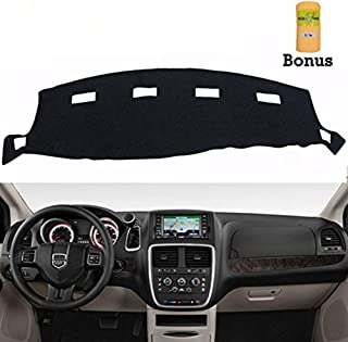 Big Ant Dashboard Cover for Dodge Ram 1500 2500 3500 2002-2005 Black Carpet Dash Cover Mat,Custom Fit Dashboard Protector