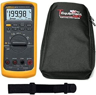 Fluke 87-5 PRO TE Bundle - with Magnetic Hanging Strap and Soft Case