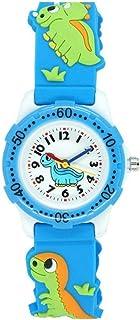 Jian Ya Na Chicas Precioso Reloj de los niños de Dibujos Animados, Correa de Silicona Digitales de Pulsera de Cuarzo Ronda