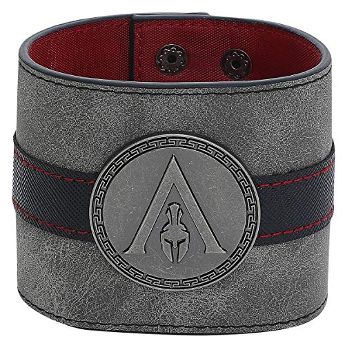 Difuzed Assassin's Creed Odyssey - Metal Badge Wristband Armband schwarz