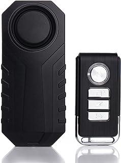 $33 » WSXKA Remote Control Bicycle Alarm, 113dB Wireless Anti-Theft Vibration Motorcycle Bicycle Alarm Waterproof Vehicle Securi...