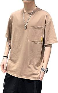 [SeBeliev(シービリーヴ)] ゆったり Tシャツ ポケット付き ビッグT オーバーサイズ 半袖 良質素材 部屋着 吸汗速乾