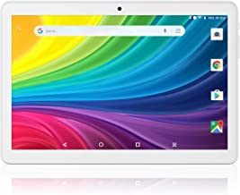 Android Tablet 10.1 Inch, 1+16GB Storage, Unlocked Tablet PC, 3G Phablet with Dual SIM Card Slots and Cameras,WiFi, Blueto...