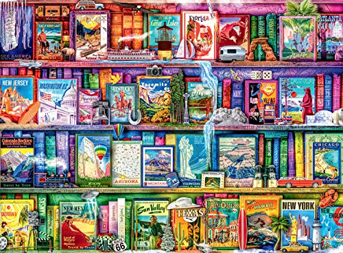 Buffalo Games - Aimee Stewart - Travel Trinkets - 1000 Piece Jigsaw Puzzle
