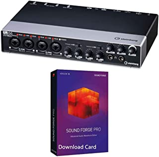 Steinberg UR44 USB 2.0 Audio Interface Bundled with MAGIX Sound Forge Pro 12 [Download Card