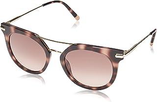 كالفن كلاين نظارات شمسية مستديرة للنساء