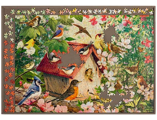 Jigthings - JIGBOARD 1000 - Jigsaw Puzzle Board for Most Puzzles Up to 1000 Pieces