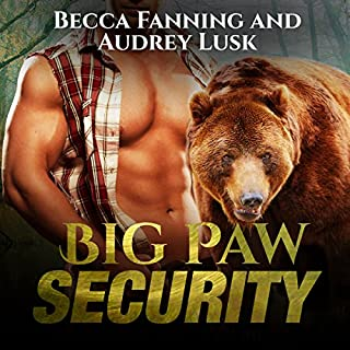 Big Paw Security                   By:                                                                                                                                 Becca Fanning                               Narrated by:                                                                                                                                 Audrey Lusk                      Length: 6 hrs and 36 mins     29 ratings     Overall 3.8