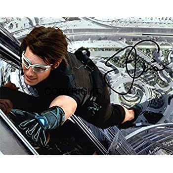 CERT PRINTED AUTOGRAPH LIMITED EDITION TOM CRUISE MISSION IMPOSSIBLE SIGNED PHOTOGRAPH
