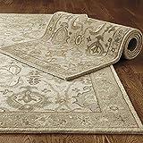 Vecchio fatto a mano tradizionale persiano stile orientale lana tappeti e moquette (9x12(274x366) cm)