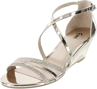 abf2ff6efbaf Amazon.com  Gold - Sandals   Shoes  Clothing