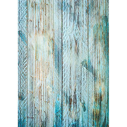 Fondo de fotografía de Textura de Tablero de Madera tablones de Madera Piso Baby Shower Foto telones de Fondo Accesorios de Estudio A25 10x10ft / 3x3m