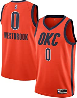 Outerstuff Youth 8-20 Russell Westbrook Oklahoma City Thunder #0 Player Jersey for Kids