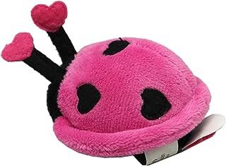 Ladybug Go-Go Pullstring Vibrating Stuffed Toy: Pink - by Ganz