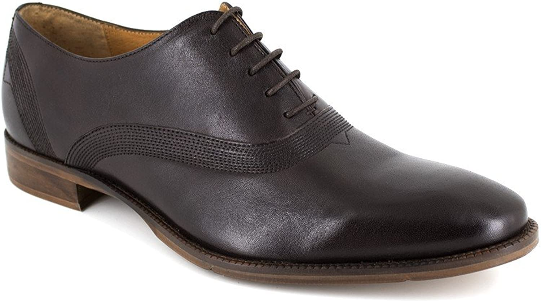 Peter Blade Richelieu Brown Leather LONAN