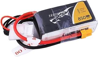 TATTU 850mAh 11.1V 45C 3S LiPo Battery Pack with XT30 Plug for Multirotor FPV 150 180 Size Quadcopter