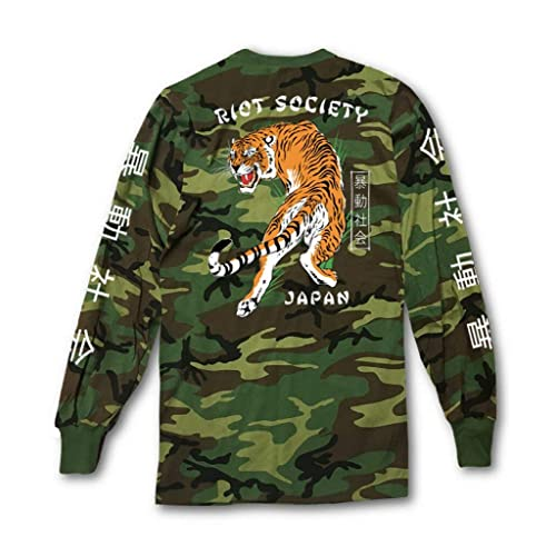 Riot Society Men s Long Sleeve Graphic Fashion T-Shirt fd09d16461