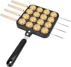 Takoyaki Grill Pan avec 4 Pcs Aiguille à Pâtisserie Takoyaki Octopus Ball Maker Farcie Pancake Pan Antiadhésive Bbq Plaque...