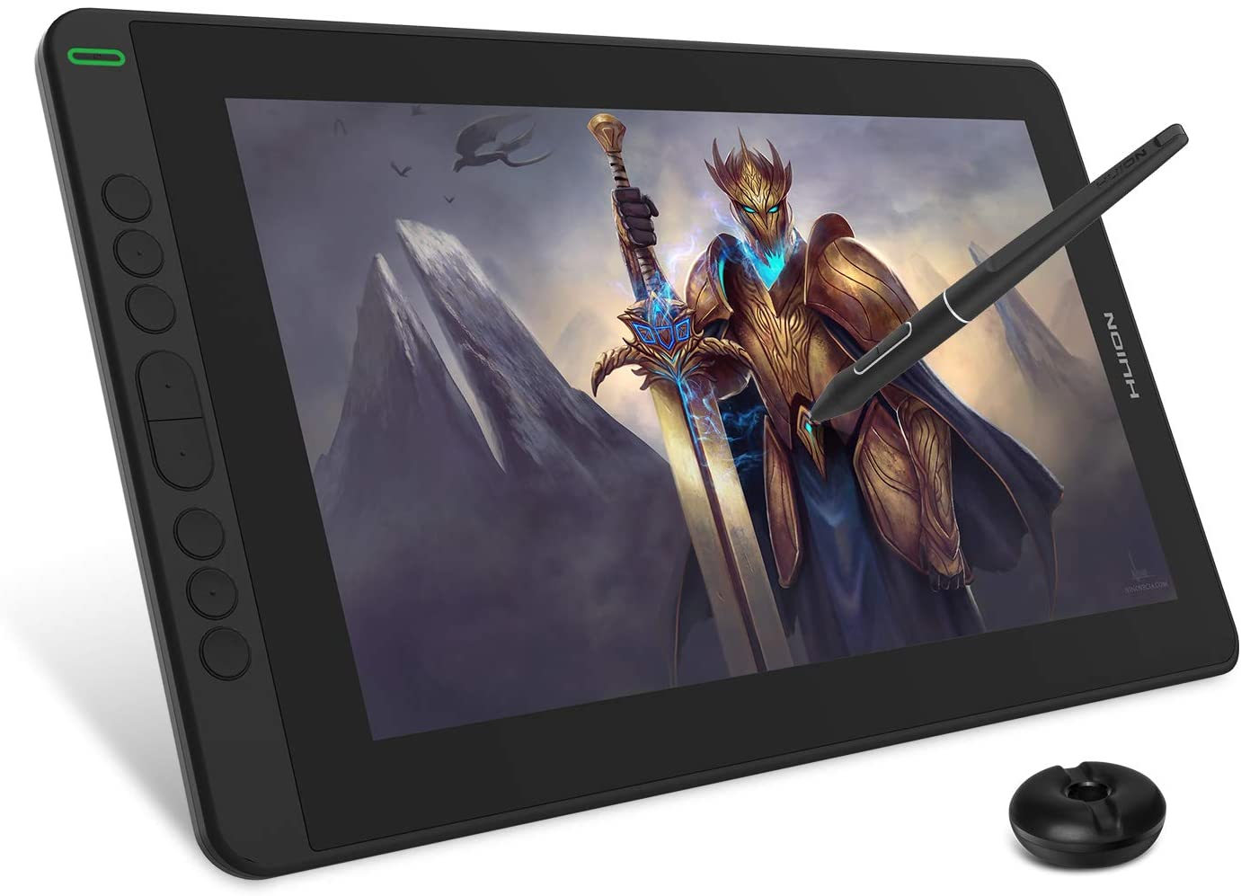 2020 HUION KAMVAS 13 Graphics Drawing Tablet with Full-Laminated Screen Android Support Battery-Free Sylus Tilt 8 Press Keys,13.3inch Pen Display,Black