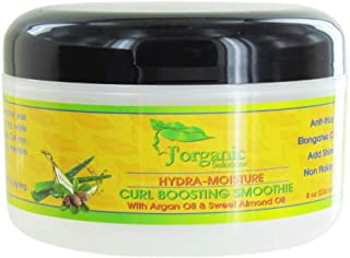 J'Organic Solutions Curl Boosting Smoothie Natural Gel with argan oil & sweet almond oil