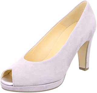 ¡envío gratis! Gabor Platform Peeptoe Court Court Court zapatos - Cain - 21.390  Nuevos productos de artículos novedosos.