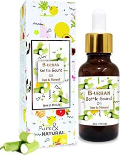 B-URBAN Bottle Gourd Oil 100% Natural Pure Undiluted Uncut Carrier Oil 50ml