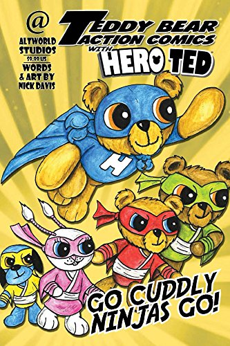 Teddy Bear Action Comics:  With Hero Ted (English Edition)