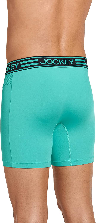Jockey Men's Underwear Sport Cooling Mesh Performance Boxer Brief