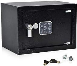 SereneLife Compact Safe Box, Safes & Lock Boxes, Gun Safe Box, Safe Security Box, Digital Safe Box, House Safe, Combinatio...