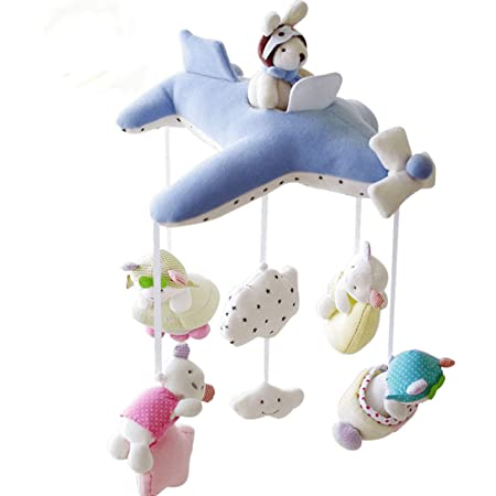 ベッドメリー メロディいっぱい オルゴールメリー おやすみメリー モービル人気ランキング獲得商品 おもちゃ オルゴール ホルダー支柱(3点セット)ベビー寝かしつけ用品