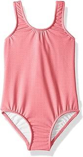 Seafolly Girls' Tie Back Tank One Piece Swimsuit