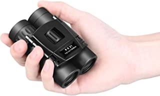 8x21 Small Compact Lightweight Binoculars For Concert Theater Opera .Mini Pocket Folding Binoculars w/Fully Coated Lens Fo...