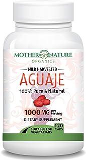 Sponsored Ad - Aguaje Fruit Supplement - 120 Vegan Capsules - 1000mg Per Serving - Natural Butt and Bust Enhancement, Curv...
