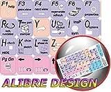 NEW ALIBRE DESIGN KEYBOARD STICKER (GRAPHIC DESIGN EDITING) FOR DESKTOP, LAPTOP AND NOTEBOOK