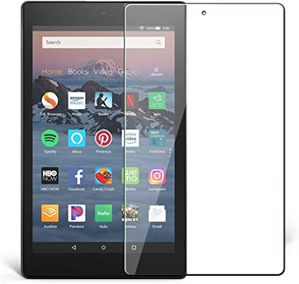 FireHD 82018 Screen Protector, Vicstar Premium Tempered Glass Film High Definition, 9H Hardness, for FireHD 82018 Laptop Tablet