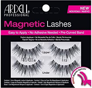 Ardell Wispies Magnetic Strip Lashes, 113 Black