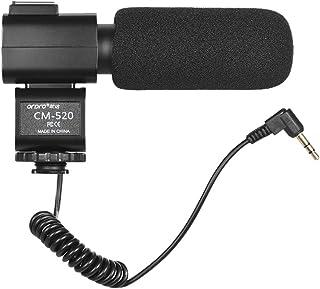Andoer CM 520 kamera Mikrofon Super Cardioid Elektret Kondensator Mic mit Hot Schuhhalter für Canon Nikon Sony DSLR Digital Video Kamera Camcorder