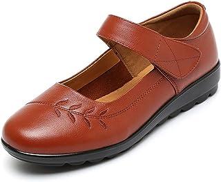 [実りの秋] シニアシューズ レディース 26.5CMまで お年寄りシューズ マジックテープ 疲れにくい 滑り止め 婦人靴 モカシン 介護用 軽量 安定感 通気性 高齢者 母の日 敬老の日 通年